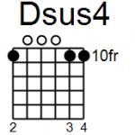 Dsus4